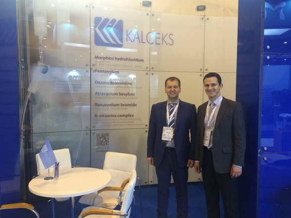 """Kalceks"" successfully participated in the international exhibition ""CPhI Worldwide 2015"" drawing attention of new partners to injection drug forms"