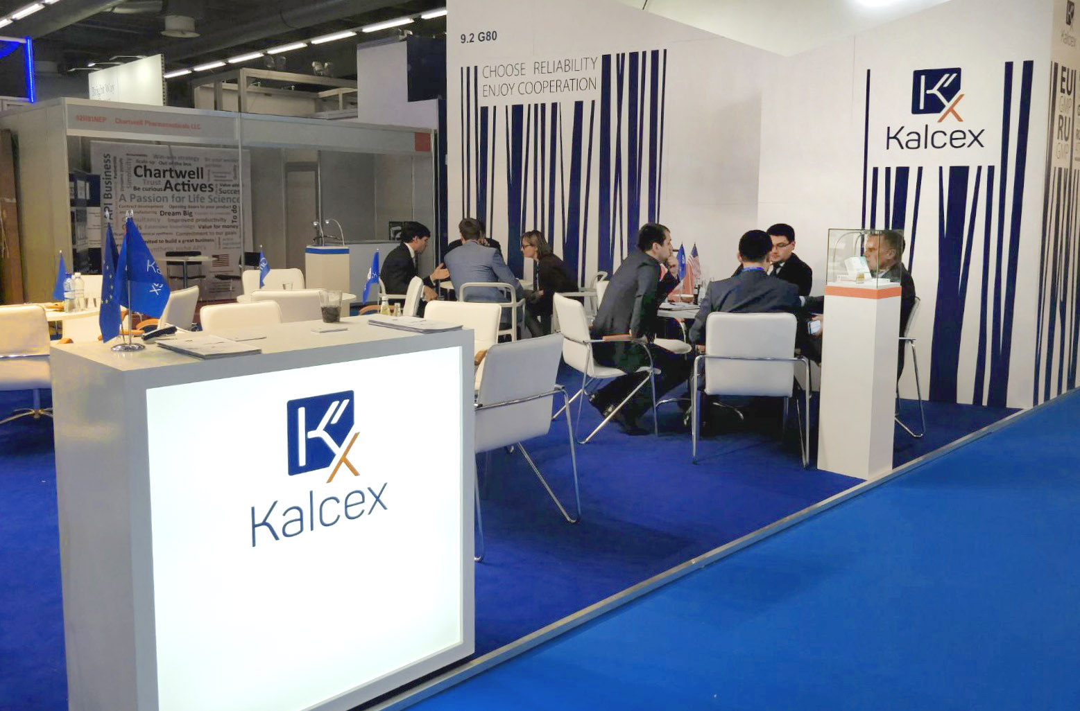 """Kalceks"" participated in the international exhibition ""CPhI Worldwide 2017"" expanding the global reach."