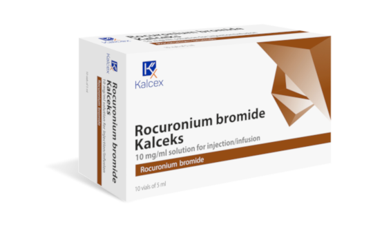 Rocuronium (bromure de) solution injectable