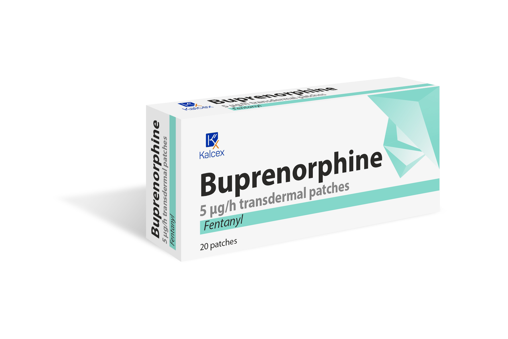 Buprenorphine transdermal patches*